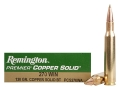 Product detail of Remington Premier Ammunition 270 Winchester 130 Grain Copper Solid Tipped Boat Tail Lead-Free Box of 20