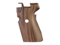 Product detail of Hogue Fancy Hardwood Grips Sig Sauer P239