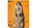 "Product detail of Caldwell Orange Peel Varmint Targets 7"" Self-Adhesive Silhouette Pack of 10"