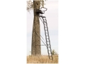 Product detail of Big Game The Sky Rise Ladder Treestand Steel Black