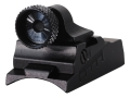Product detail of Williams WGRS-Black Diamond Guide Receiver Peep Sight Thompson Center Black Diamond Aluminum Black