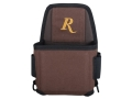 Product detail of Remington Premier Single Box Shotshell Box Ammunition Carrier Nylon Brown