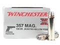 Product detail of Winchester Super-X Ammunition 357 Magnum 158 Grain Jacketed Hollow Point