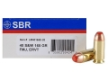 Product detail of SBR LaserMatch Tracer Ammunition 40 S&W 165 Grain Full Metal Jacket ERVT Box of 20
