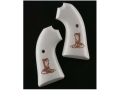 Product detail of Hogue Grips Ruger Bisley Ivory Polymer Boot and Rope Pattern