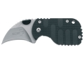 "Product detail of Boker Plus Subclaw Folding Knife 1-7/8"" Hawkbill Point AUS-8 Stainless Steel Blade Nylon Handle Black"