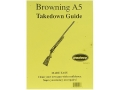"Product detail of Radocy Takedown Guide ""Browning A5"""