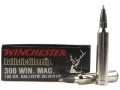 Product detail of Winchester Supreme Ammunition 300 Winchester Magnum 180 Grain Ballistic Silvertip