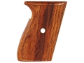 Product detail of Hogue Fancy Hardwood Grips Sig Sauer P230, P232 Checkered Cocobolo
