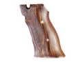 Product detail of Hogue Fancy Hardwood Grips S&W 41