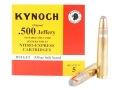 Product detail of Kynoch Ammunition 500 Jeffery 535 Grain Woodleigh Weldcore Soft Point Box of 5