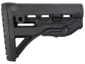 Product detail of Mako Recoil Reducing Buttstock Collapsible Mil-Spec or Commercial Diameter AR-15, LR-308 Carbine Synthetic Black
