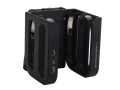Product detail of AP Customs 3x3 Shotshell Shell Carrier with Blade Tech Tek Loc Clip Aluminum Black