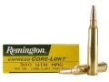 Product detail of Remington Express Ammunition 300 Winchester Magnum 180 Grain Core-Lokt Pointed Soft Point Box of 20
