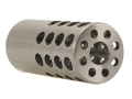 "Product detail of Vais Muzzle Brake Varmint 308 Caliber 5/8""-32 Thread .875"" Outside Diameter x 2"" Length Chrome Moly in the White"