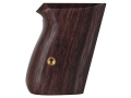 Product detail of Hogue Fancy Hardwood Grips Walther PPK Rosewood