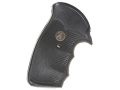 Product detail of Pachmayr Gripper Grips with Finger Grooves Ruger Security Six Rubber Black