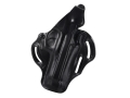 Product detail of DeSantis Thumb Break Scabbard Belt Holster Right Hand Beretta 92F, 92FS, 92M, M9 Leather Black