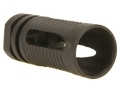 "Product detail of Model 1 Flash Hider AR-15 Phantom C7 1/2""-28 Thread Steel Matte"