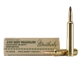 Product detail of Weatherby Ammunition 240 Weatherby Magnum 85 Grain Barnes Triple-Shock X Bullet Hollow Point Lead-Free Box of 20