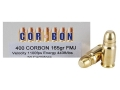 Product detail of Cor-Bon Performance Match Ammunition 400 Cor-Bon 165 Grain Full Metal Jacket Box of 50