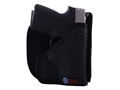 Product detail of DeSantis Super Fly Pocket Holster Ambidextrous Smith & Wesson Bodyguard 380 Nylon Black