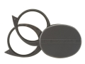Product detail of Donegan Optical Magni-Pak Double Folding Pocket Magnifying Glass 3X, 4X or 7X