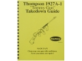 "Product detail of Radocy Takedown Guide ""Thompson 1927A-1"""