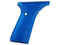 Product detail of Tactical Solutions Performance Grips Browning Buck Mark Checkered Aluminum Blue