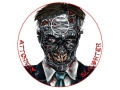 "Product detail of Lyman Zombie Dot Attorney Slaughter Target 8"" Self-Adhesive Package of 10"