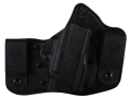 Product detail of DeSantis Intruder Inside the Waistband Holster Right Hand S&W Bodyguard Kydex and Leather Black