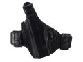 Product detail of Bianchi Allusion Series 130 Classified Outside the Waistband Holster Left Hand Glock 26, 27, 33 Leather Black