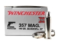 Product detail of Winchester Super-X Ammunition 357 Magnum 145 Grain Silvertip Hollow Point