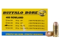 Product detail of Buffalo Bore Ammunition 460 Rowland 230 Grain Full Metal Jacket Flat Nose Box of 20