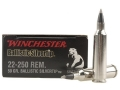 Product detail of Winchester Supreme Ammunition 22-250 Remington 50 Grain Ballistic Silvertip