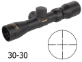 Product detail of Konus Pistol Scope 2-8x 28mm 30-30 Reticle Matte