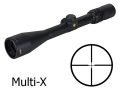 Product detail of Bushnell Elite 4200 Rifle Scope 2.5-10x 40mm Multi-X Reticle Matte