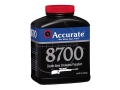 Product detail of Accurate 8700 Smokeless Powder 8 lb
