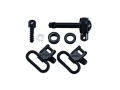 "Product detail of BlackHawk Lok-Down Sling Swivel Set Remington 7400 1"" Steel Blue"