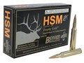 Product detail of HSM Trophy Gold Ammunition 25-06 Remington 115 Grain Berger Hunting VLD Hollow Point Boat Tail Box of 20