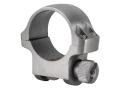 "Product detail of Ruger 1"" Ring Mount 3K Silver Low"