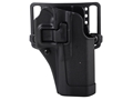 Product detail of BlackHawk CQC Serpa Holster Right Hand Glock 17, 22, 31 Polymer Black