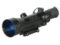 Product detail of ATN Night Arrow 4-CGT Generation Night Vision Rifle Scope 4x Illuminated Red Duplex Reticle with Integral Weaver-Style Mount Matte