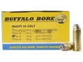 Product detail of Buffalo Bore Ammunition 45 Colt (Long Colt) +P 260 Grain Jacketed Hol...