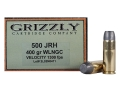 Product detail of Grizzly Ammunition 500 JRH 400 Grain Lead Wide Flat Nose Gas Check Box of 20