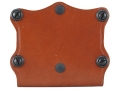 Product detail of Hunter 5602 Pro-Hide Double Magazine Pouch Open Top Large Double-Stack Magazine Leather Brown