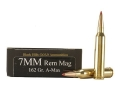 Product detail of Black Hills Gold Ammunition 7mm Remington Magnum 162 Grain Hornady A-Max Box of 20