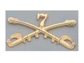 Product detail of Collector's Armoury Replica Civil War Custer's Seventh Cavalry Insignia Brass