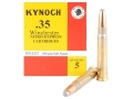 Product detail of Kynoch Ammunition 35 Winchester 250 Grain Woodleigh Weldcore Soft Point Box of 5