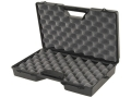 "Product detail of MTM Scoped Pistol Gun Case 8.5"" Barrel 15"" x 9.5"" x 2.8"" Plastic Black"